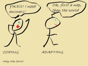 Coping Vs. Adapting